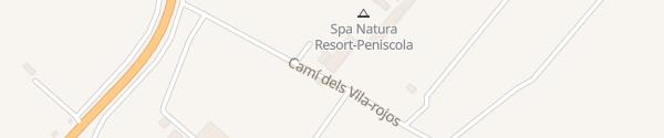 Karte Spa Natura Resort Peñíscola