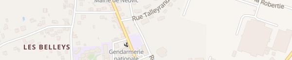 Karte La Poste Neuvic