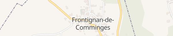Karte Mairie Frontignan-de-Comminges