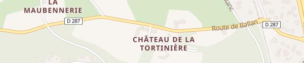 Karte Domaine de la Tortinière Veigné