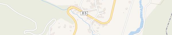 Karte Bushaltestelle Sengouagnet