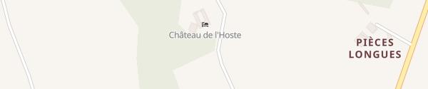 Karte Château de l'Hoste Saint-Beauzeil