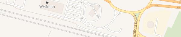 Karte IONITY Channel Gateway Hythe