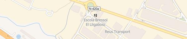 Karte ES Entreauto Reus