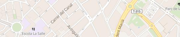 Karte Parking Carrilet Reus