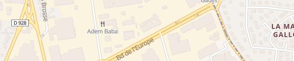 Karte Berteaux BMW & Mini Vernouillet