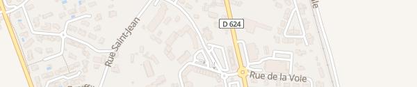 Karte Parking Rue de la République Saint-Jean-du-Falga