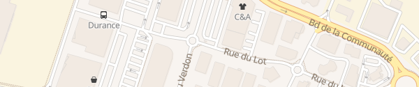 Karte Rue du Lot Buchelay