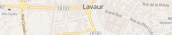 Karte Place Stalingrad Lavaur