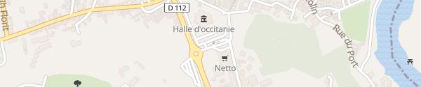 Karte Place René Cassin Lavaur