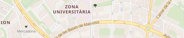 Karte Carrer de Bertran de Castellbell Manresa