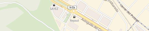 Karte Repsol Tankstelle Martorell