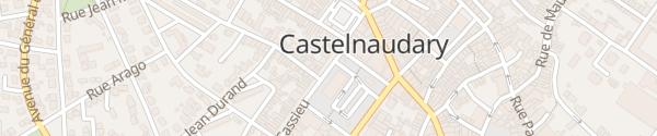 Karte Place de la République Castelnaudary