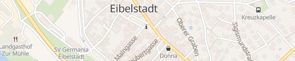 Karte Marktplatz Eibelstadt