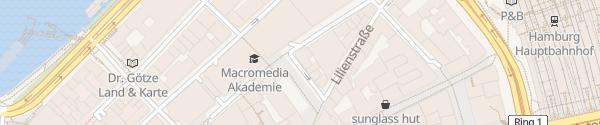 Karte Gertrudenkirchhof Hamburg