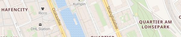 Karte Elbarkaden Hamburg