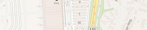 Karte Parkhaus P4 Zone W Hamburg Airport Hamburg