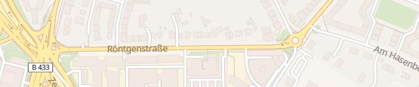 Karte Röntgenstraße Hamburg