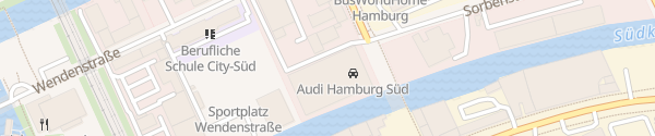 Karte Audi Wichert Parkdeck Hamburg