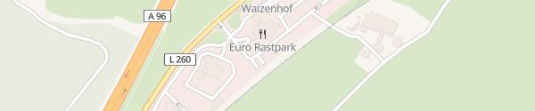 Karte Euro Rastpark Aichstetten