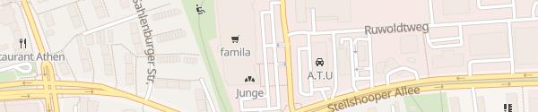 Karte Famila Hamburg