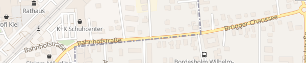 Karte Chargepoint Ladepunkt Bordesholm