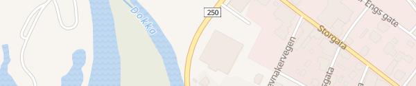 Karte Kiwi Dokka