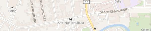 Karte VW Autohaus Schmidt & Söhne Celle