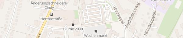 Karte Parkhaus Marktplatz-Galerie Bramfeld Hamburg