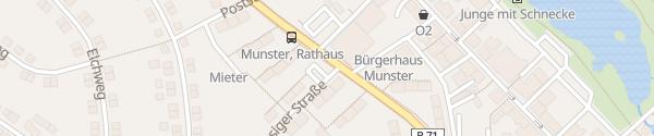 Karte innogy Ladesäule Munster