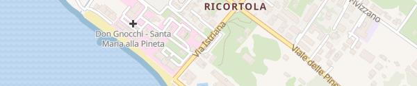 Karte Via Don Gnocchi Massa