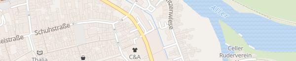 Karte Intercity Hotel Celle