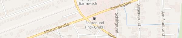 Karte Mitsubishi Fölster & Finck Hamburg