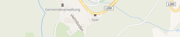 Karte Spar Schröcken