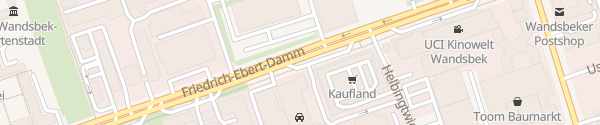 Karte Friedrich-Ebert-Damm Hamburg