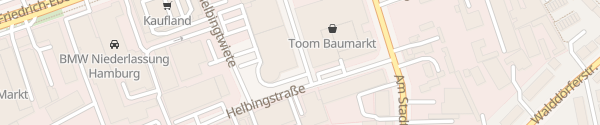 Karte Tesla Service Center Hamburg