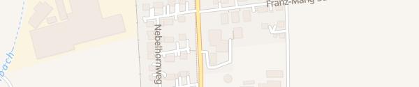 Karte Autohaus Burkhart Illertissen