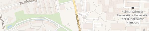 Karte Bundeswehr Universität Hamburg