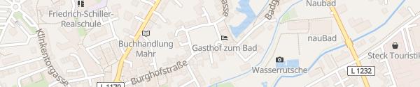 Karte Burghof Langenau