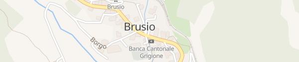Karte Municipio Brusio