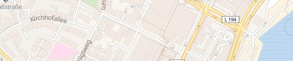 Karte Herzog-Friedrich-Straße Kiel