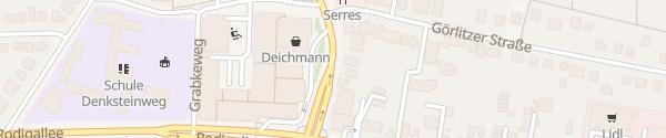 Karte Einkaufscenter Jenfeld Hamburg
