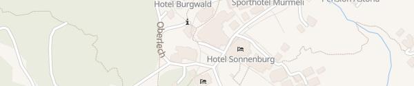 Karte Burghotel Lech am Arlberg