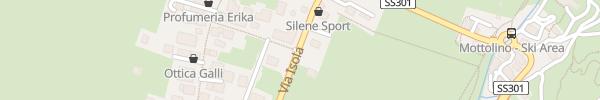 Karte Centro Livigno
