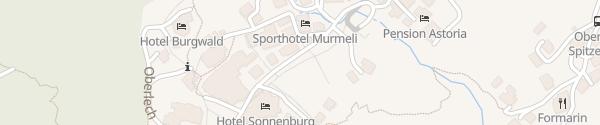 Karte Burg Vital Resort Lech