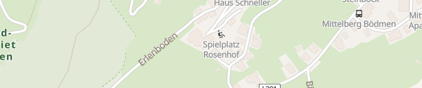 Karte Hotel Rosenhof Mittelberg