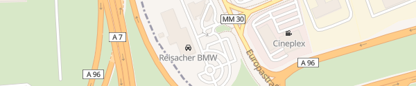 Karte BMW Reisacher Memmingen