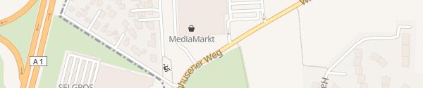 Karte Ostkreuz Center Hamburg