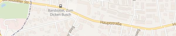 Karte Hauptstraße Barsbüttel