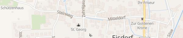 Karte Mitteldorf Bad Grund